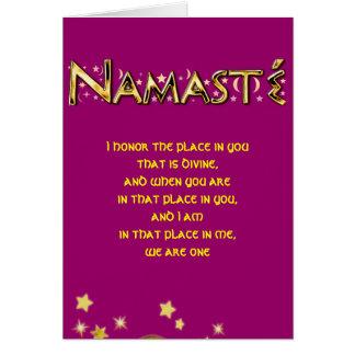 Namasté Card