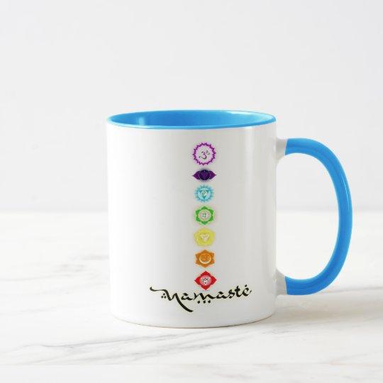 Namaste Chakras Mug