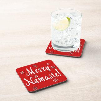 Namaste Christmas Coaster