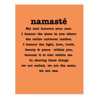 Namaste Collection Postcard