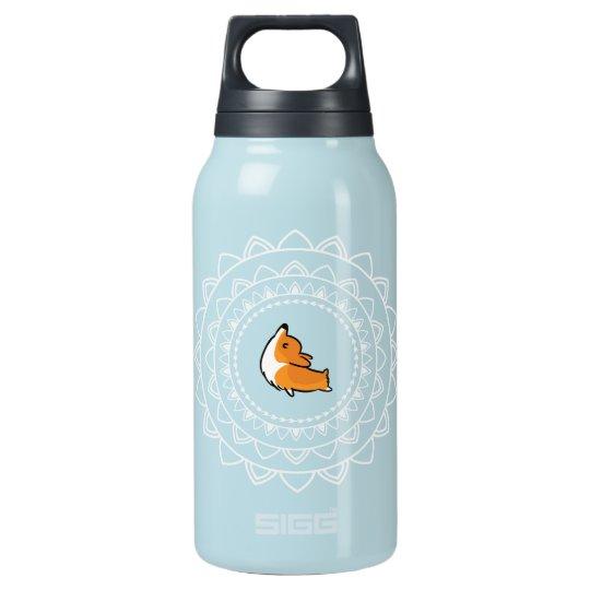 Namaste Corgi Blue Emblem Hot + Cold Water