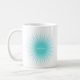 namaste double blue sun mug