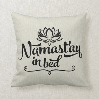 namastay in bed gifts t shirts art posters other gift ideas zazzle. Black Bedroom Furniture Sets. Home Design Ideas