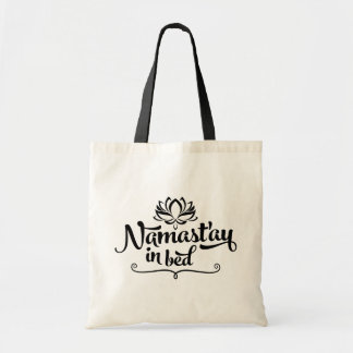 Namaste Funny Quote Tote