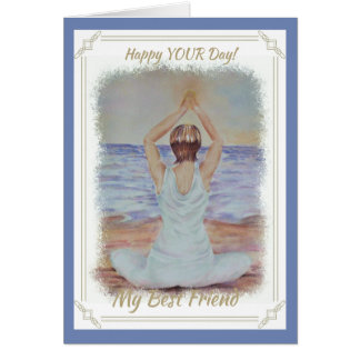 NAMASTE GIRLFRIEND CARD