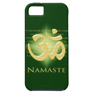 Namaste - I bow to you (in green) Case For The iPhone 5