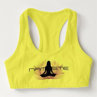 Namaste in Lotus Sports Bra