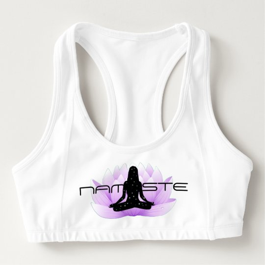 Namaste in Lotus Sports Bra