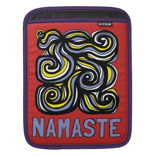 """Namaste"" iPad, iPad Mini, MacBook Air Sleeve"