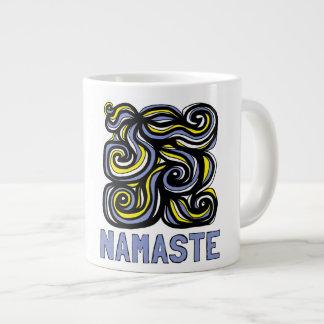 """""""Namaste"""" Jumbo Mug"""