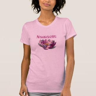 Namaste Lotus Blossom T Shirt