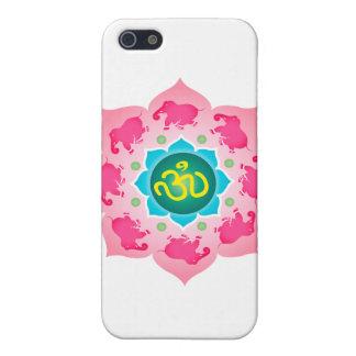Namaste Lotus Flower Om Yoga iPhone 5 Cases