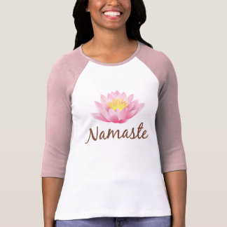 Namaste Lotus Flower Yoga Om Buddhist T-Shirt
