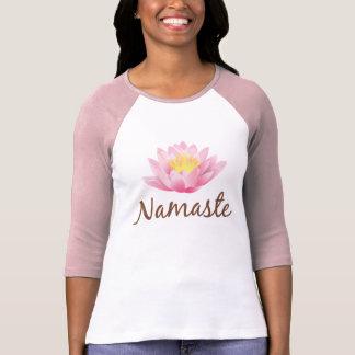Namaste Lotus Flower Yoga Om Buddhist Tshirts