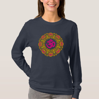 Namaste Lotus Flower Yoga Shirt