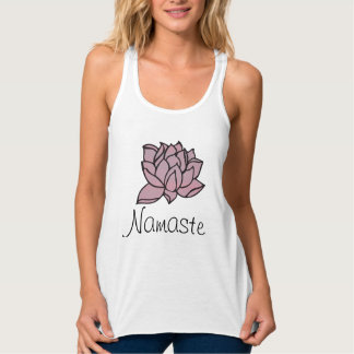 Namaste Lotus LooseFit Tank