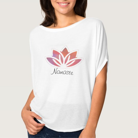Namaste Lotus Yoga Flow Top