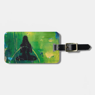 Namaste Luggage Tag