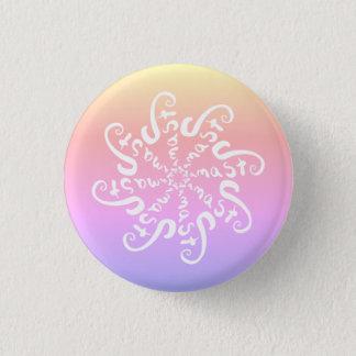 Namaste Mandala 3 Cm Round Badge