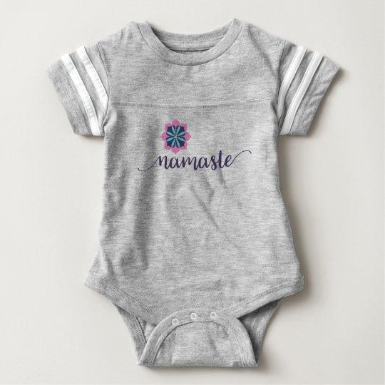 namaste mandala baby bodysuit