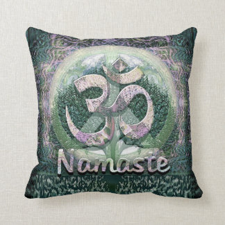 Namaste Peace Symbol Cushion