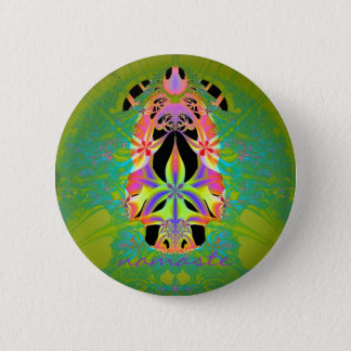 """Namaste"" - pin back button"