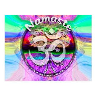 Namaste Postcard
