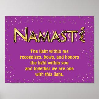 Namasté Poster