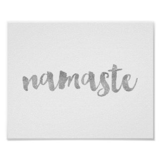 'namaste' Quote Poster