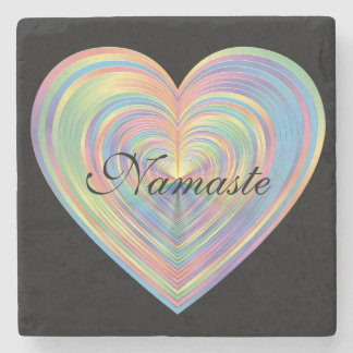 Namaste Stone Beverage Coaster