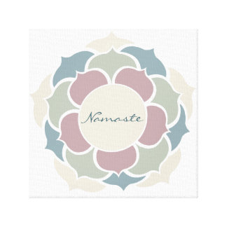 Namaste Stretched Canvas Print