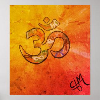 Namaste Sunrise Poster
