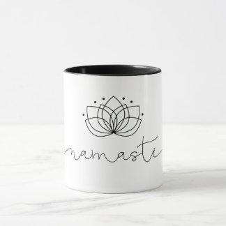Namaste Typography Mug