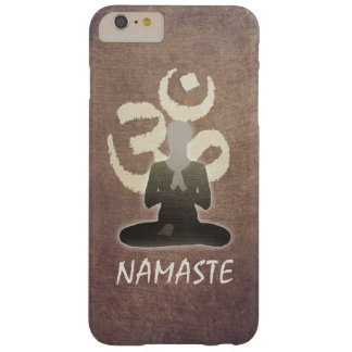 Namaste Vintage Om Aum Mediation & Yoga Barely There iPhone 6 Plus Case