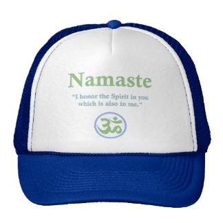 Namaste - with quote and Om symbol Cap