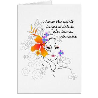 Namaste Women's Gift Card