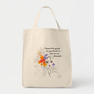 Namaste Women's Gift Tote Bag