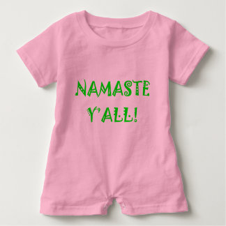 Namaste Y'All - Baby Yoga Clothes Baby Bodysuit