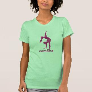 Namaste Yoga apparel, handstand pose Shirt