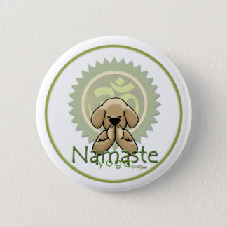 Namaste - yoga button
