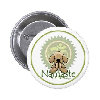 Namaste - yoga button