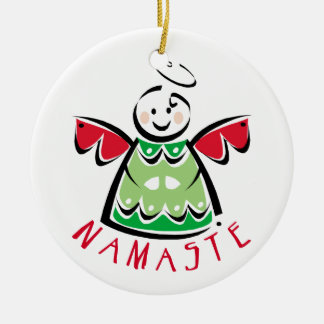 Namaste Yoga Christmas Christmas Ornament