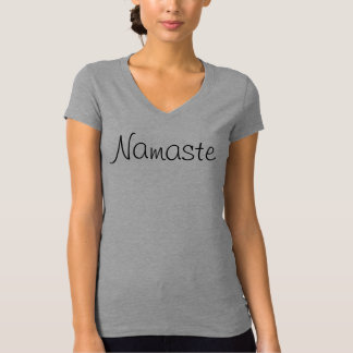 Namaste Yoga Fitted Jersey Tee