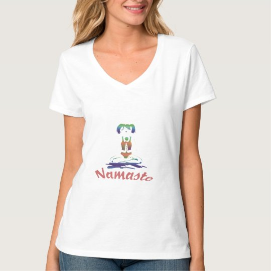 Namaste-Yoga Girl Shirt