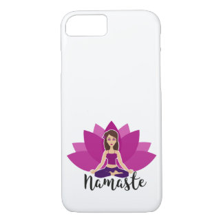 Namaste Yoga iPhone 7 Phone Case