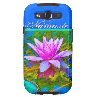 Namaste Yoga Lotus Samsung Galaxy Case Galaxy S3 Case