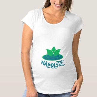 Namaste yoga maternity meditation T-shirt