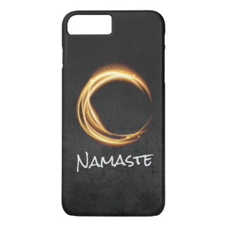 Namaste Yoga Meditation Instructor Black Gold ZEN iPhone 8 Plus/7 Plus Case