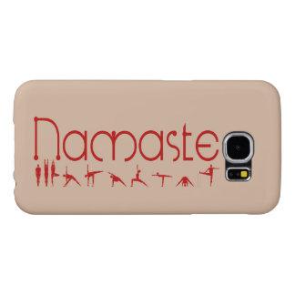 namaste yoga phone covers samsung galaxy s6 cases