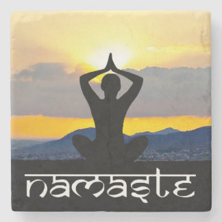 Namaste, Yoga Sunrise, Coasters